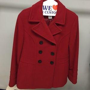 St. John's Bay women's pea coat